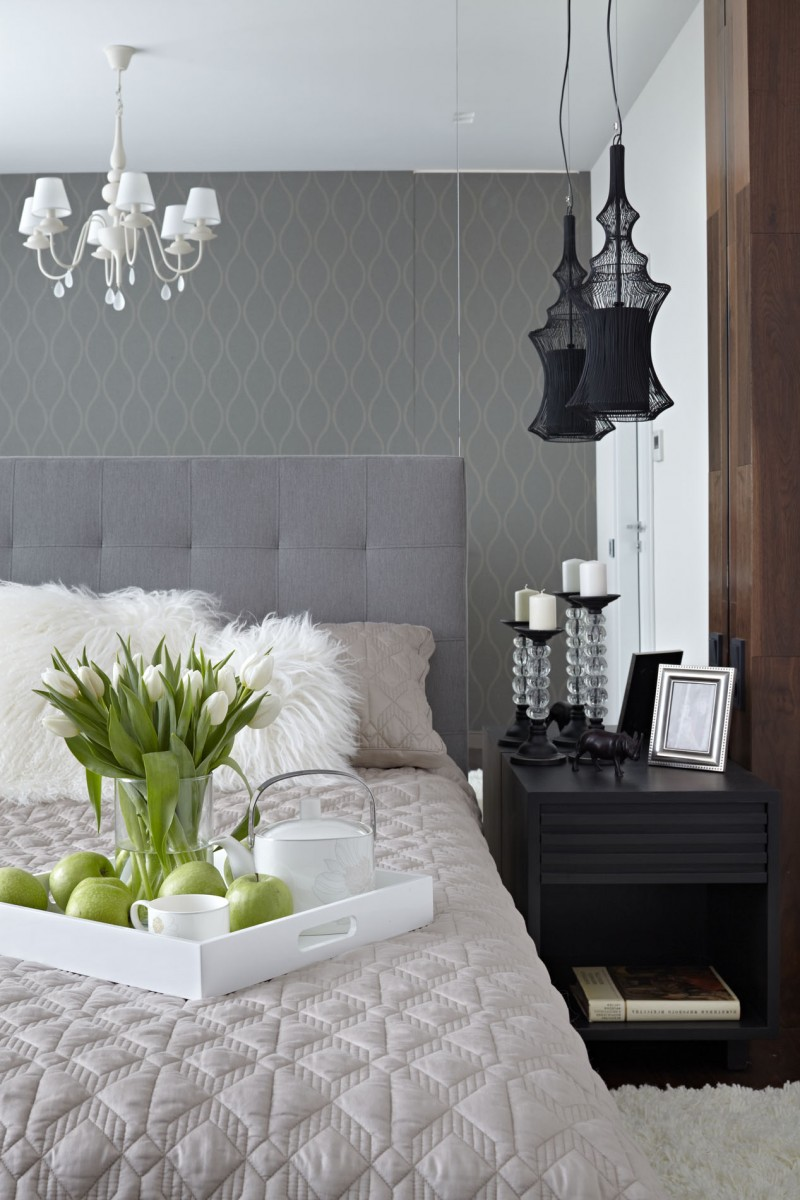 Beautiful Small Bedroom By Alexandra Fedorova