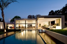 Swimming pool of new Mosi residence by Nico van der Meulen Architects