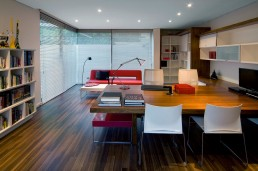 Home office in renovated Mosi residence by Nico van der Meulen Architects