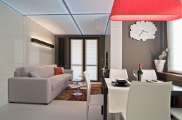 Studio apartment decoration by Fimera