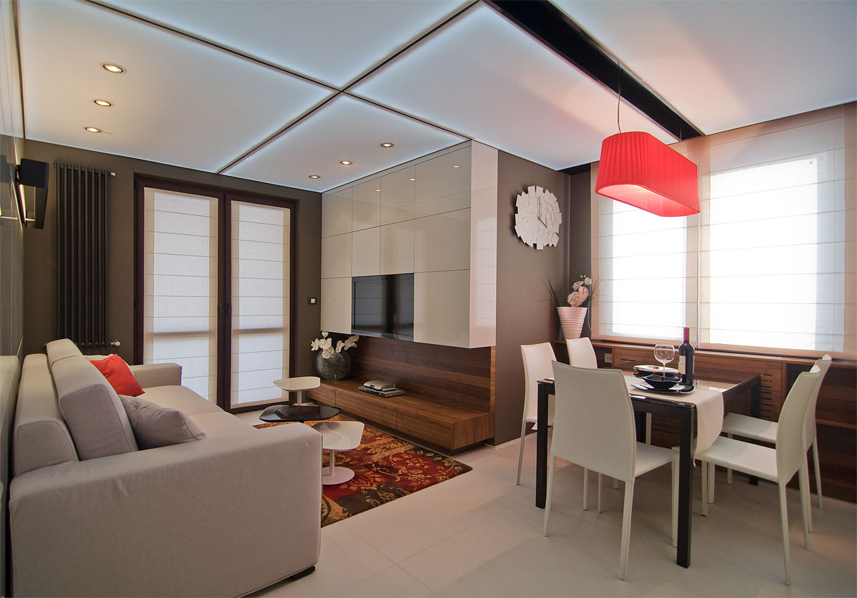 Modern small apartment by Fimera