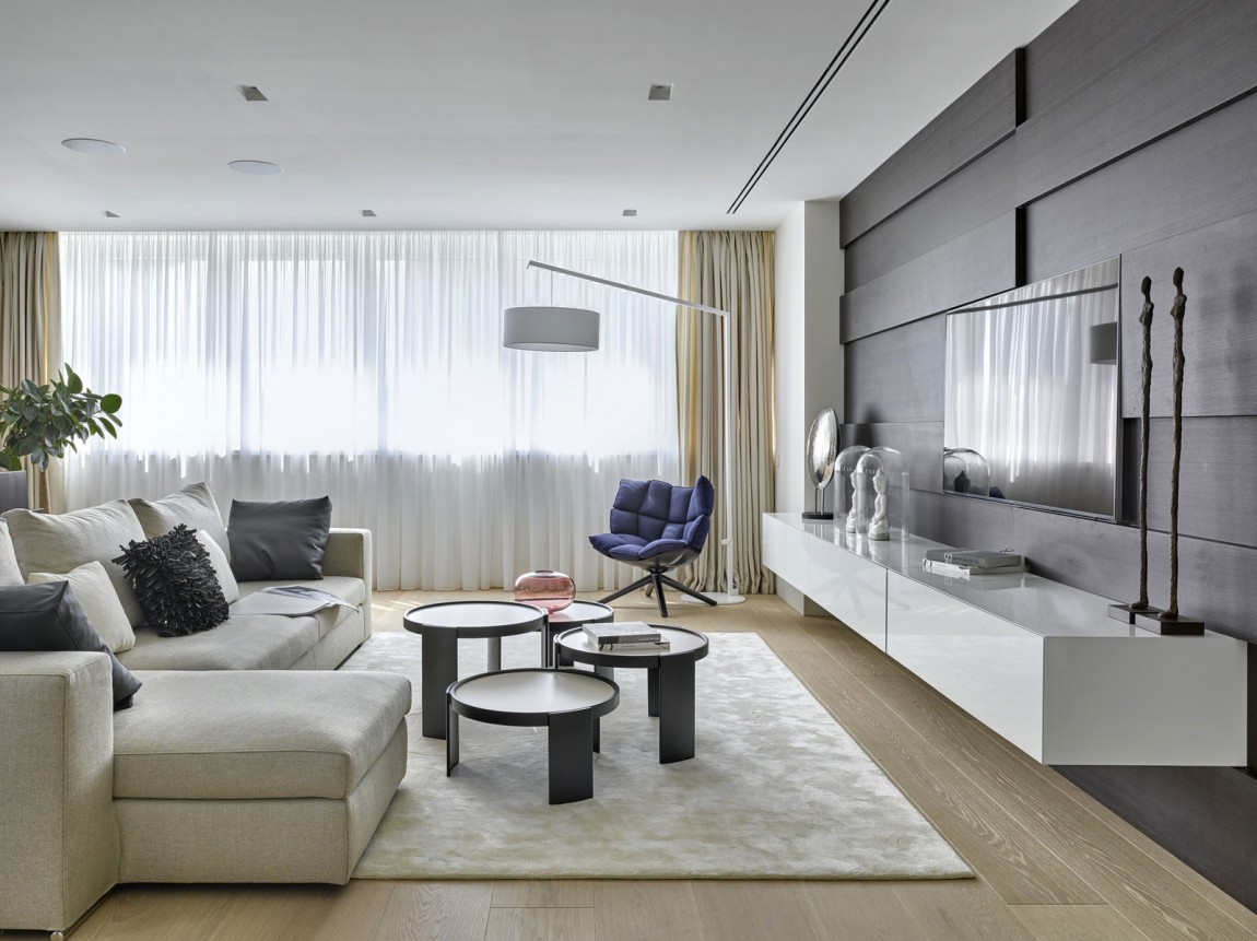 Amazing Luxury Apartment By Alexandra Fedorova. Modern Living Room By  Alexandra Fedorova Part 89
