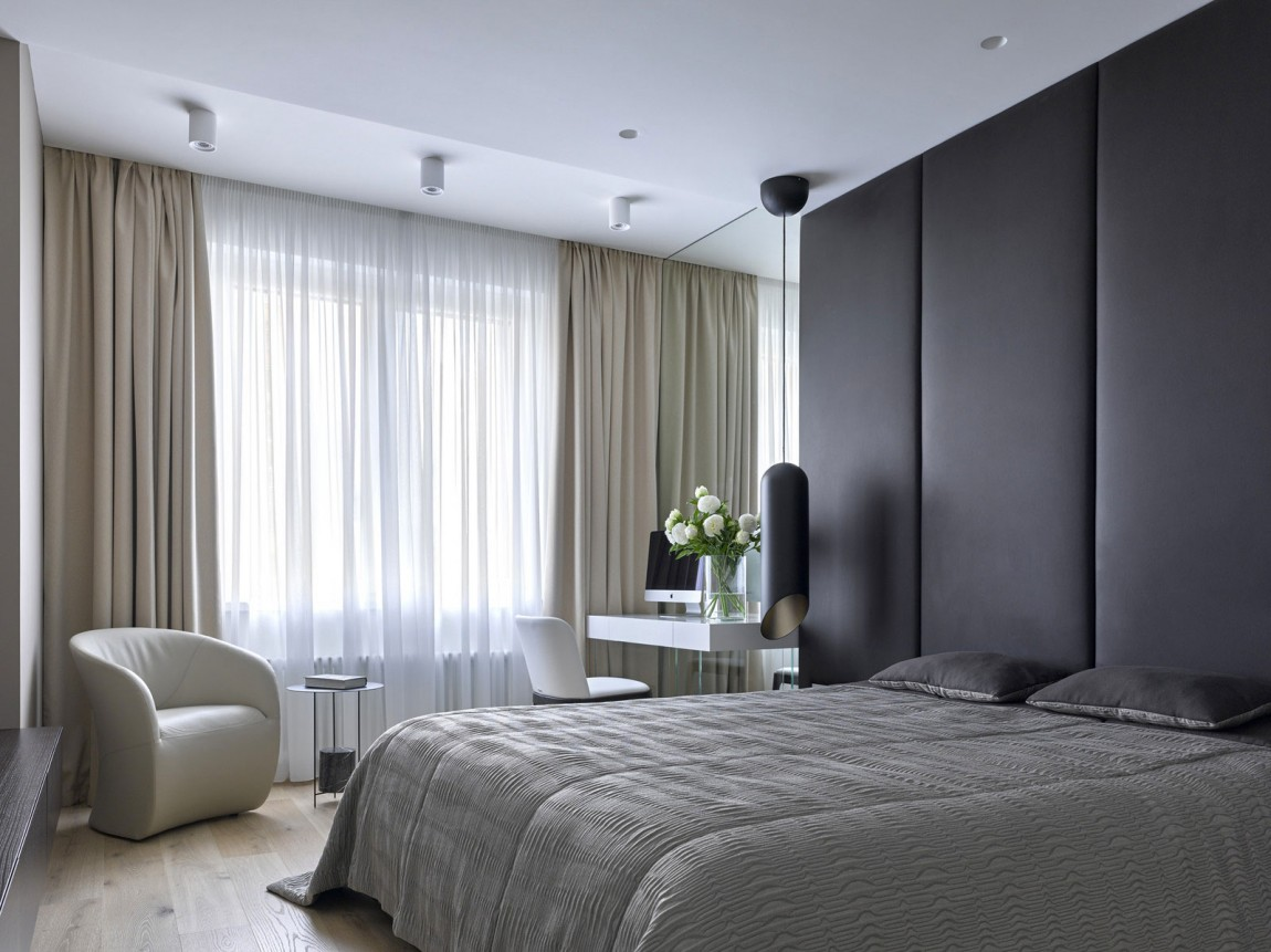 Room ideas luxury apartment design by alexandra fedorova for Luxury modern bedroom