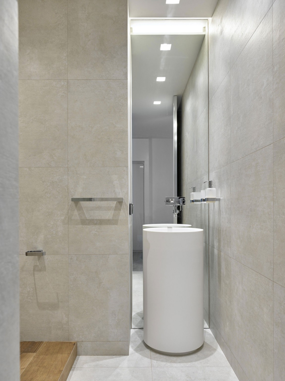Modern bathroom details by Alexandra Fedorova