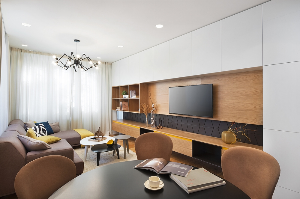 Small apartment design - Modern elegance by Fimera featured ...