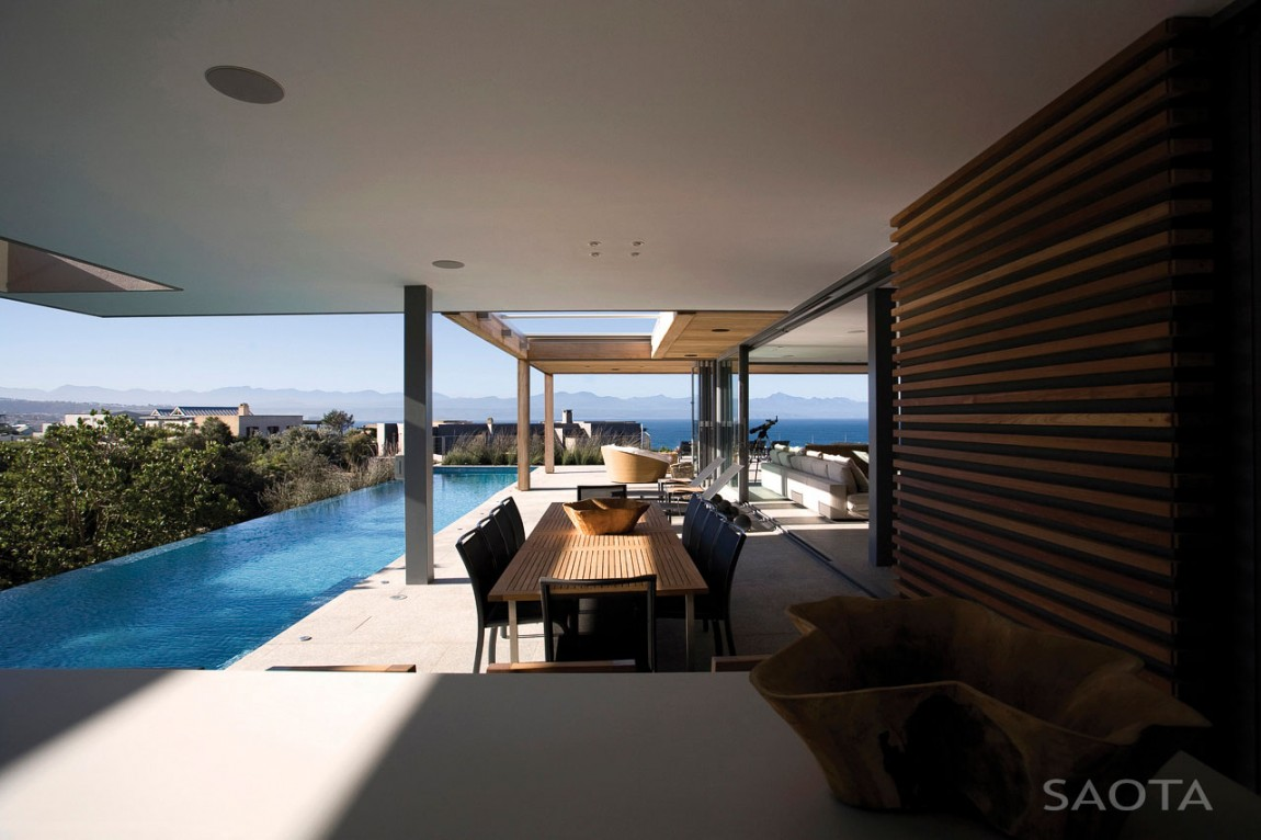 terrace design in the plett residence by saota - Home Terrace Design