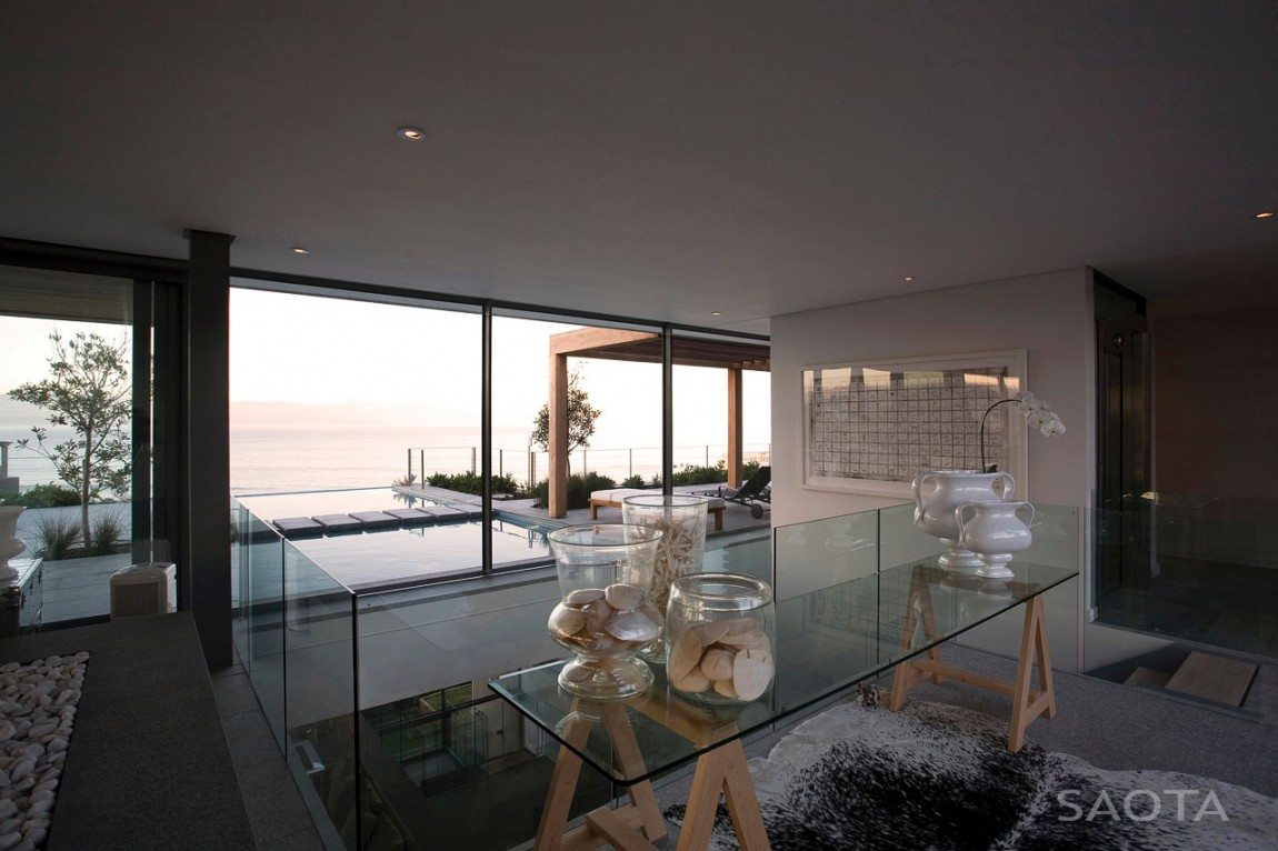 home terrace design. Interior design of Plett residence by SAOTA Terrace which defines an amazing modern home  Architecture