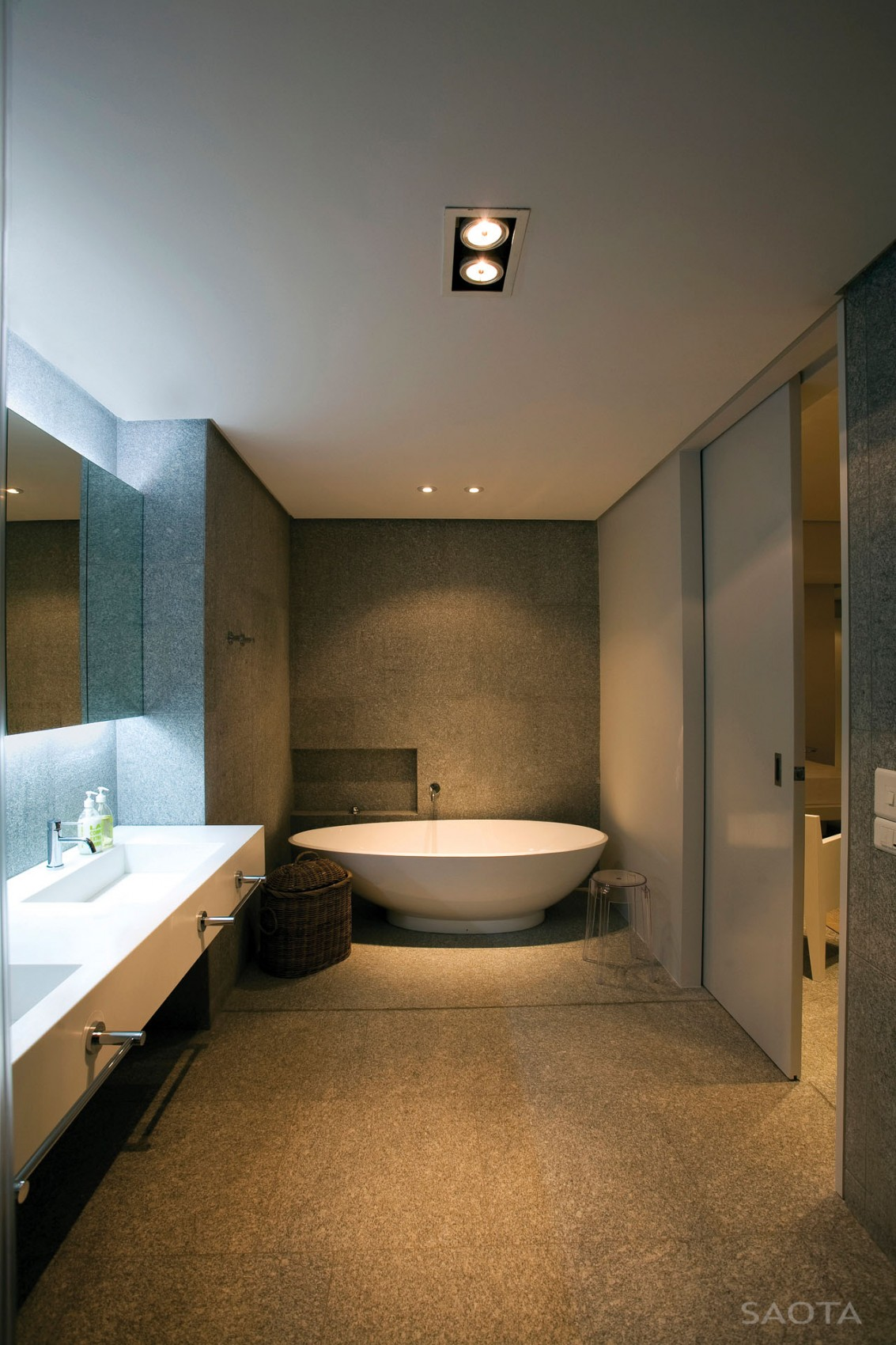 Terrace design which defines an amazing modern home for House bathroom design