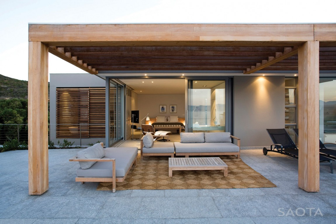 Terrace design which defines an amazing modern home for Porch design for terrace house