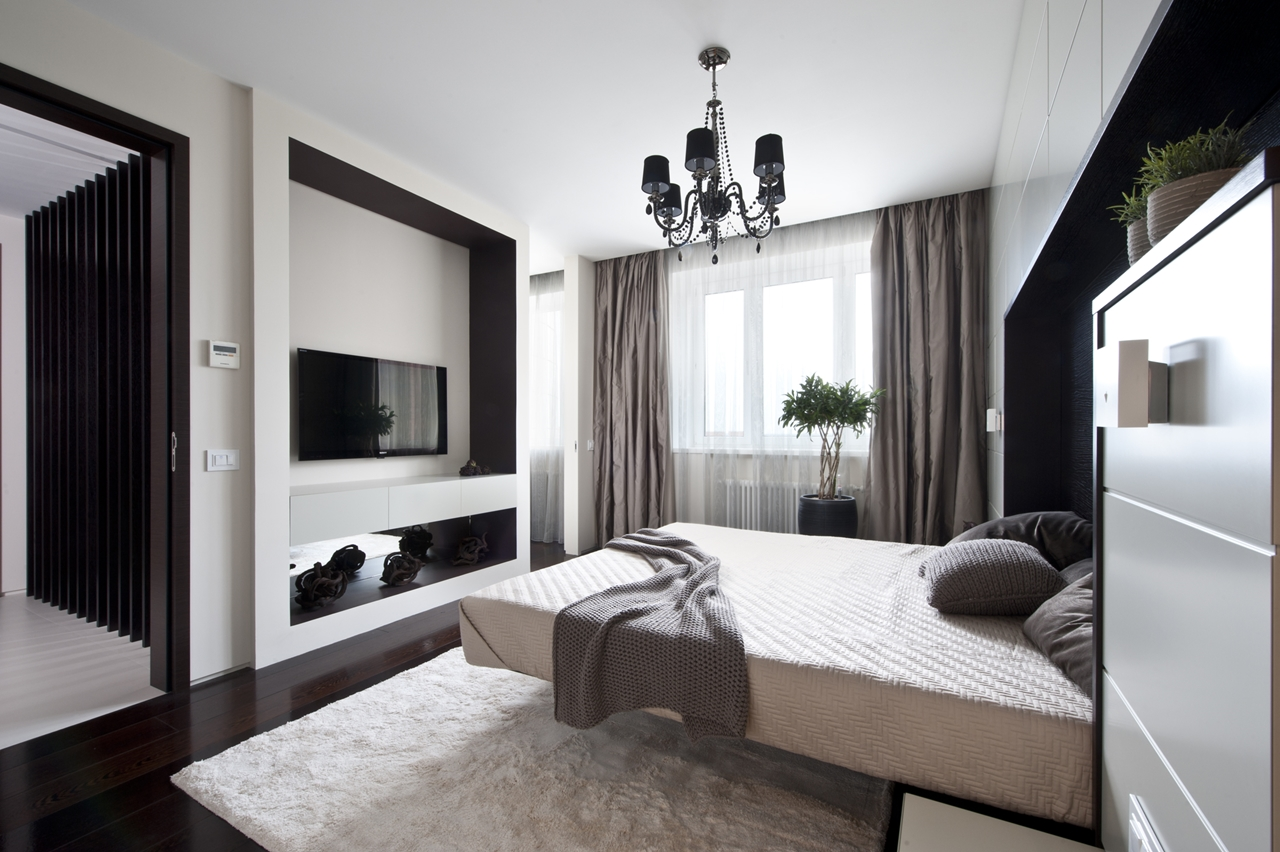 Master bedroom and apartment decorating ideas by Alexandra Fedorova