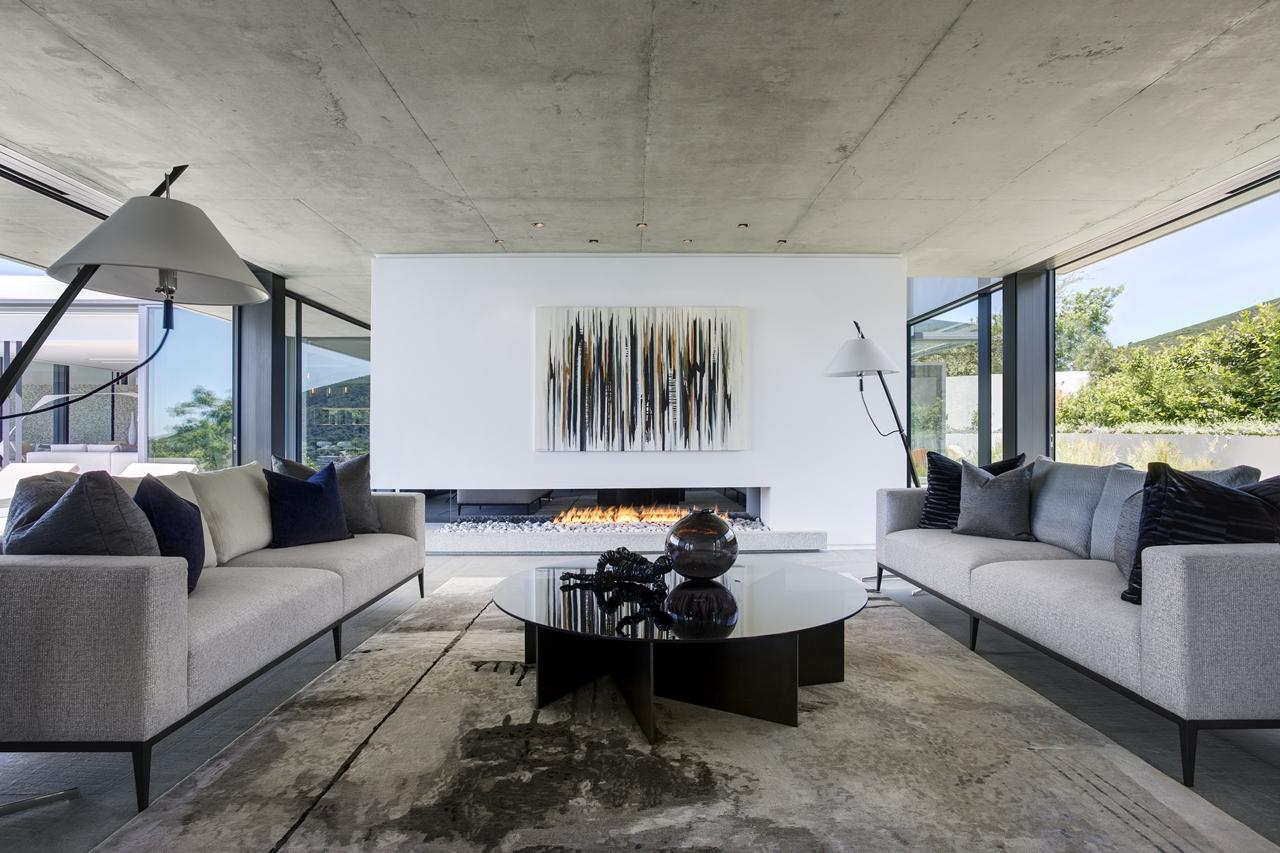 Modern living room in City Villa