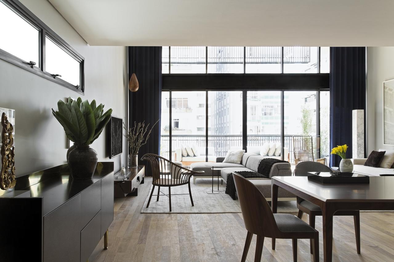 Modern Industrial Interior Design In Beautiful Open Apartment Architecture Beast