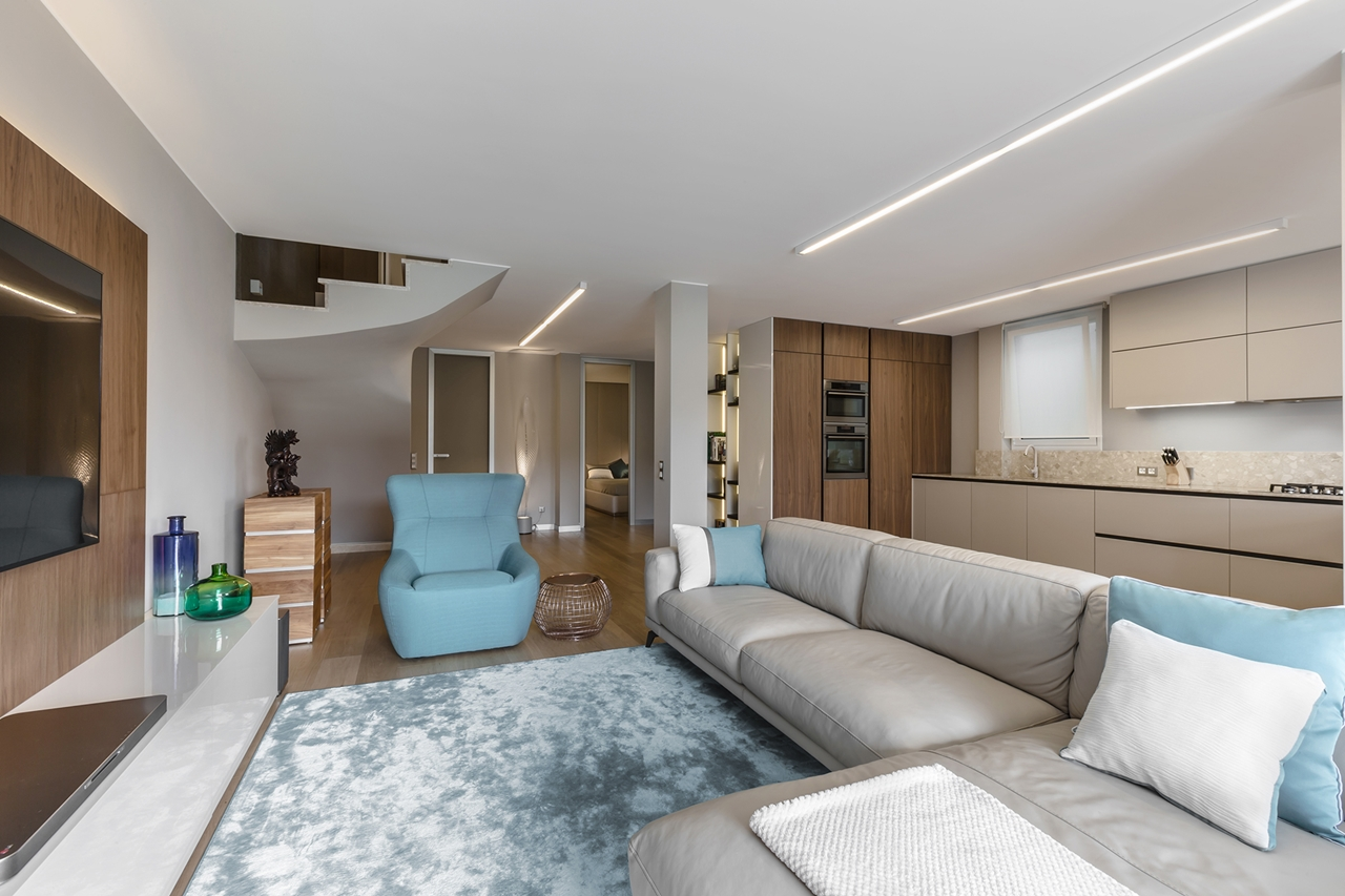 Elegant living room furniture by NG Studio