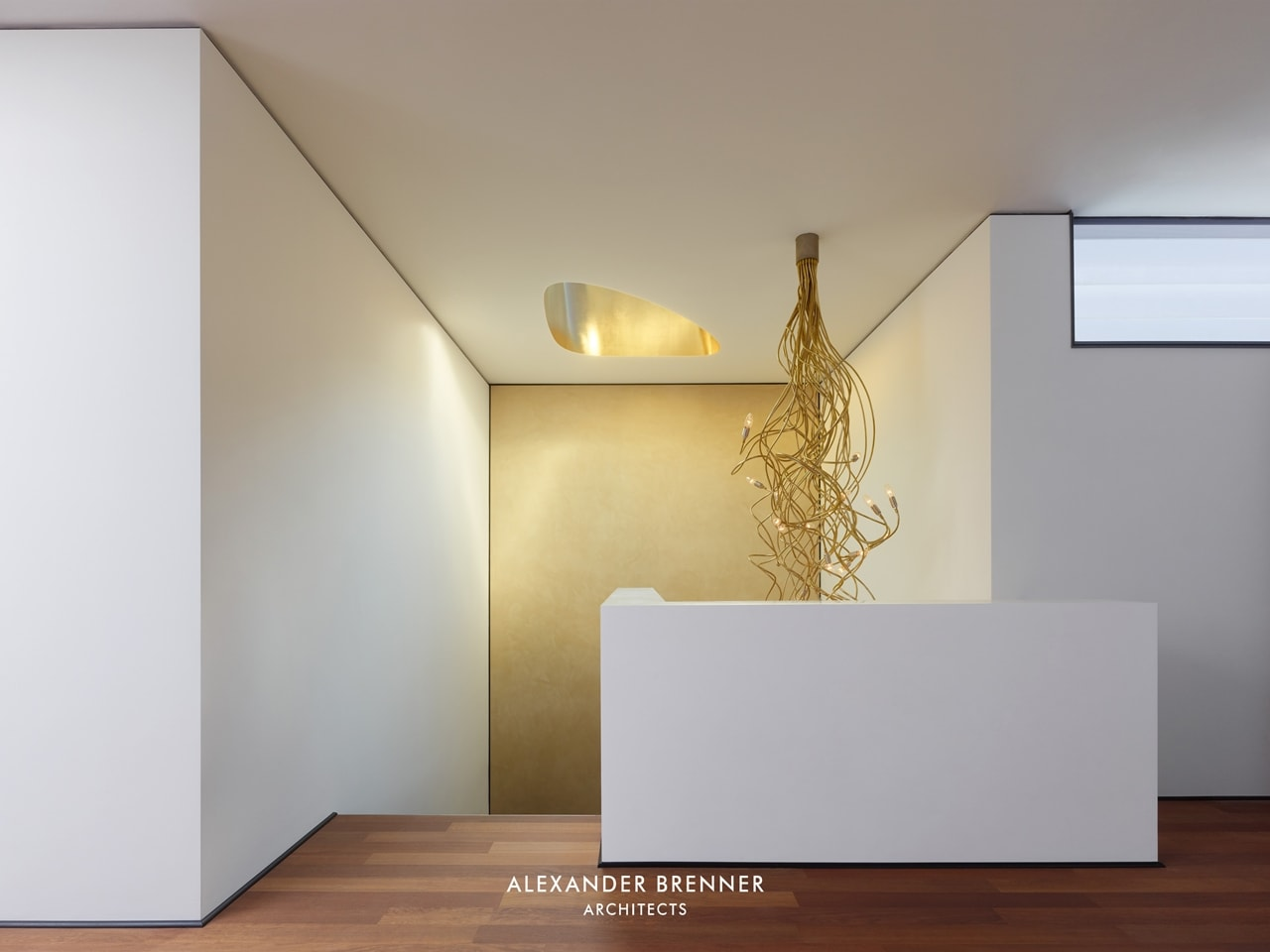 Interior of modern villa by Alexander Brenner