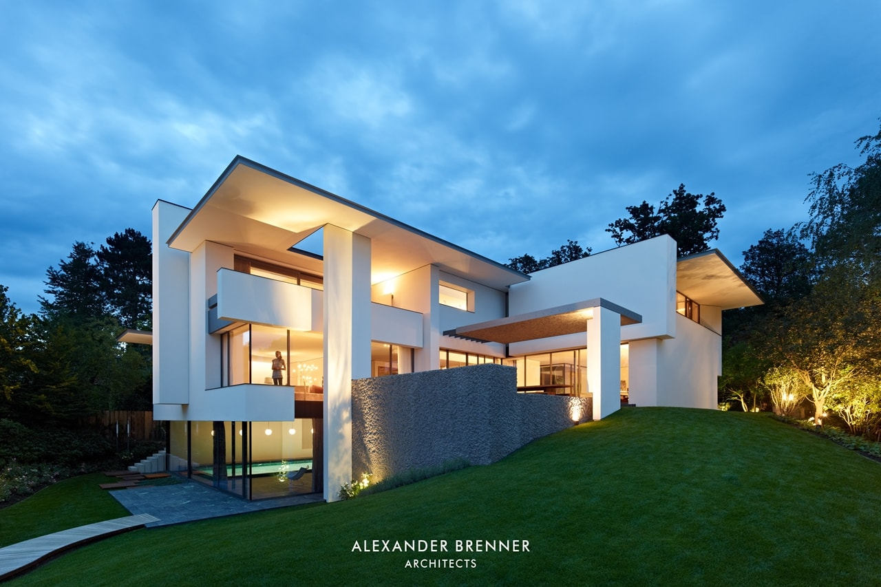 Modern Villa Design: Incredible SU House by Alexander ...