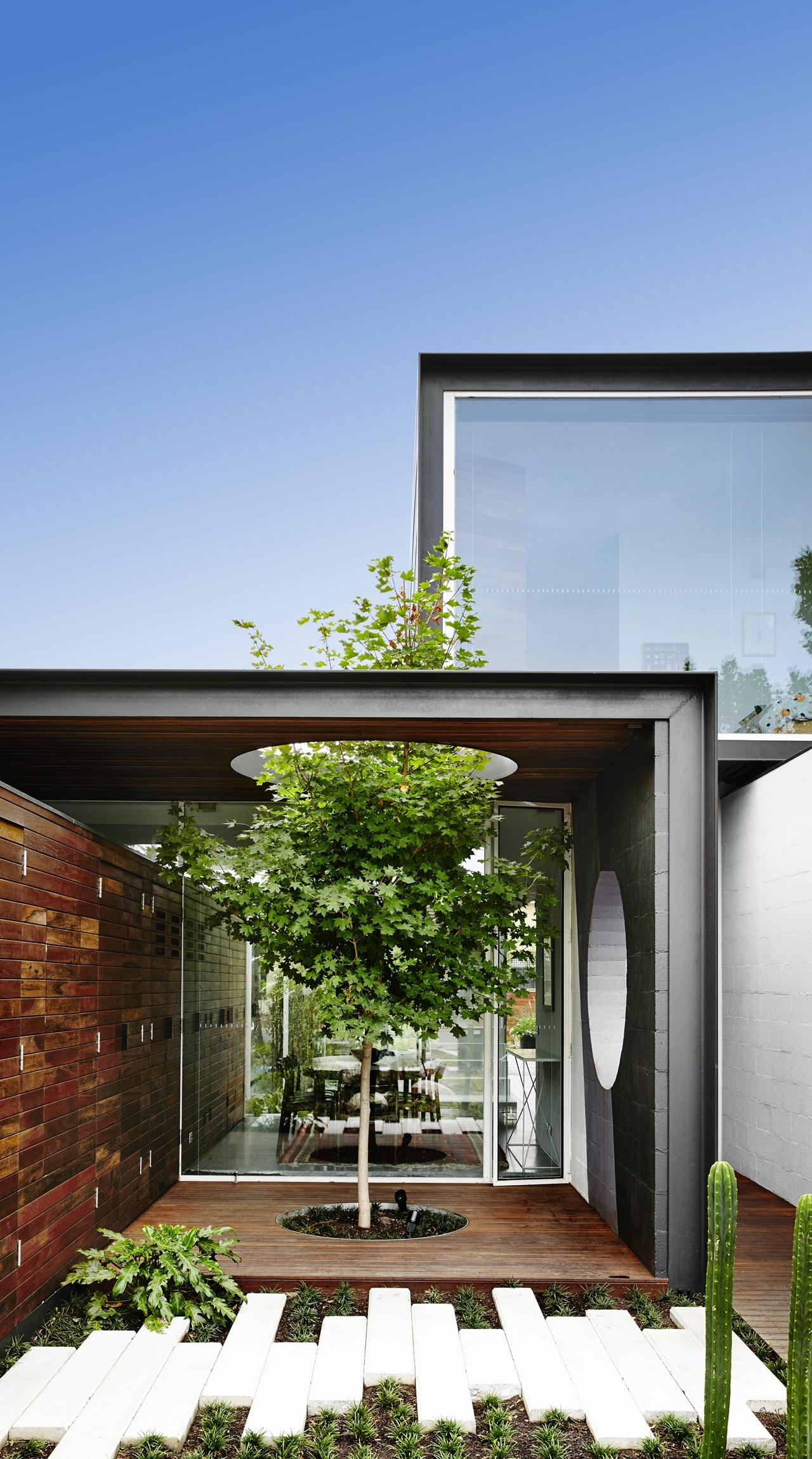 Open House Design Contemporary Home Connected To The