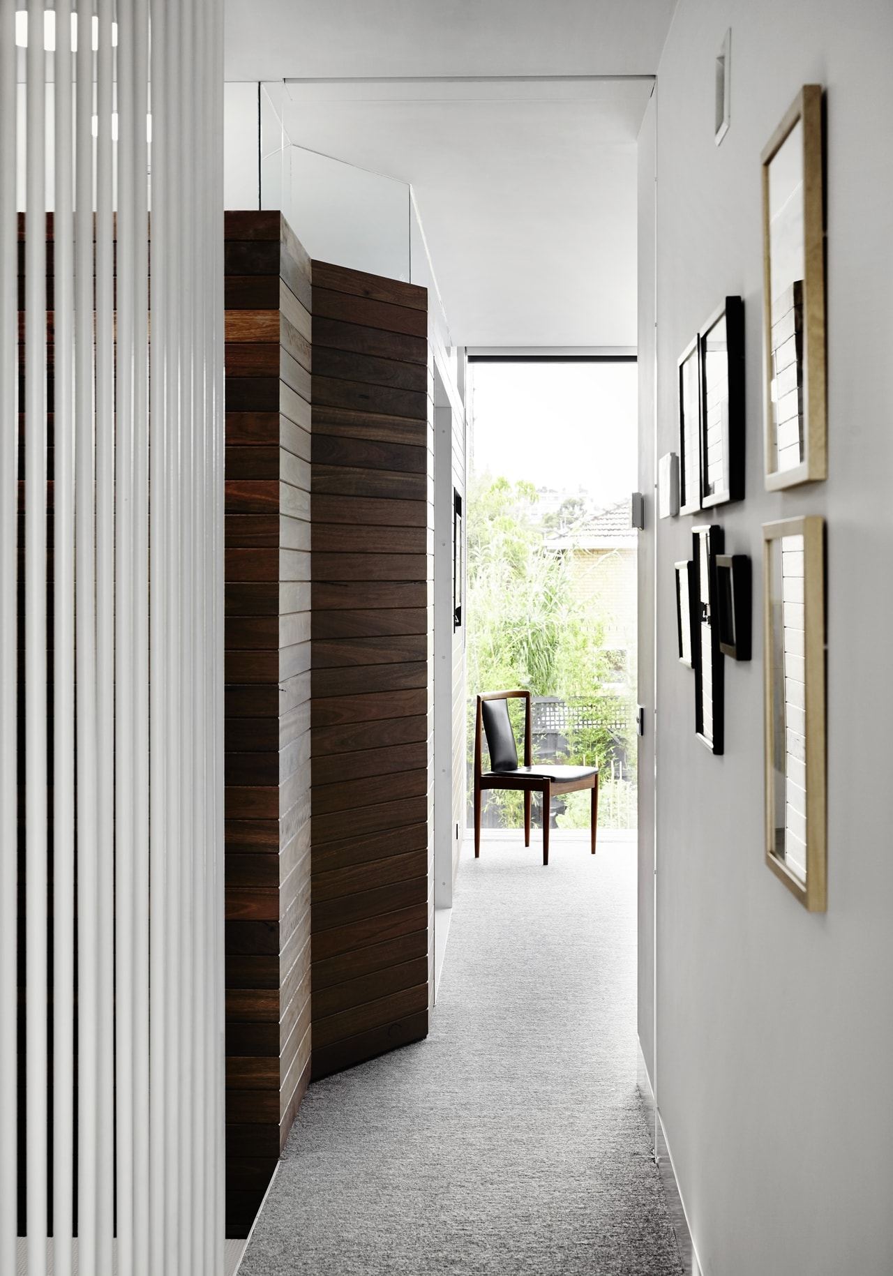 Hallway by Austin Maynard Architects