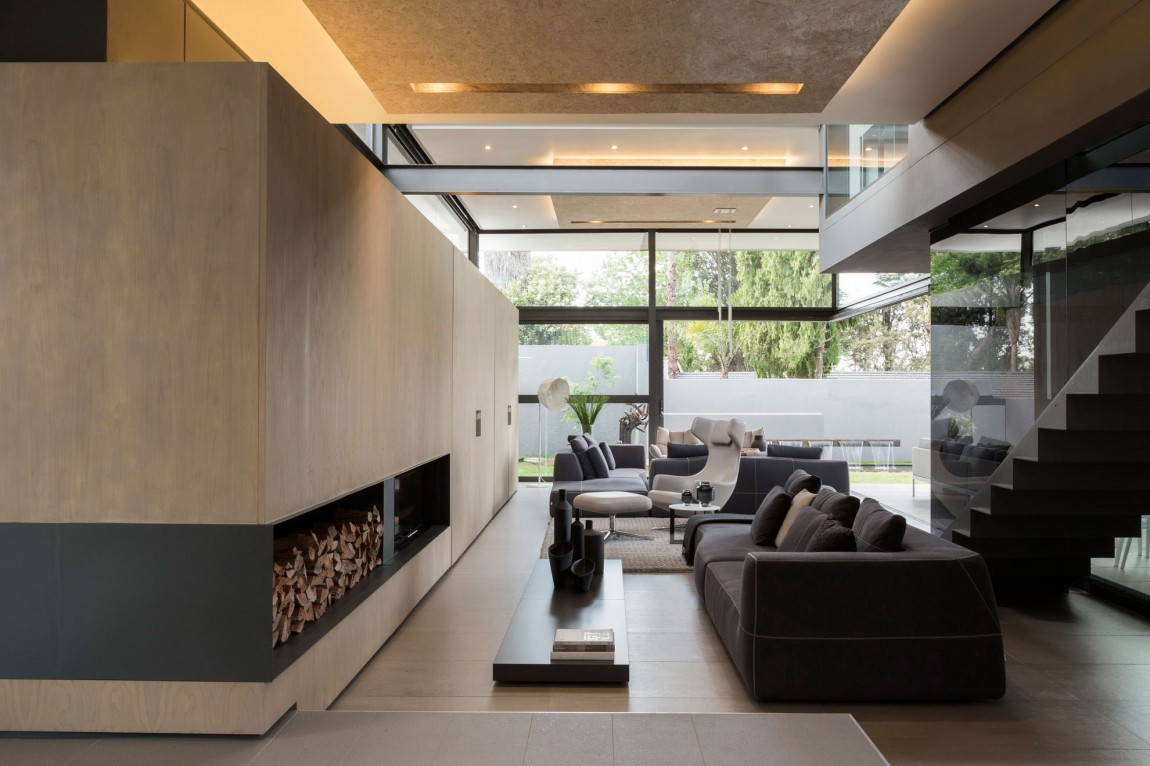 Living Room Interior Design In House Sar By Nico Van Der Meulen Architects