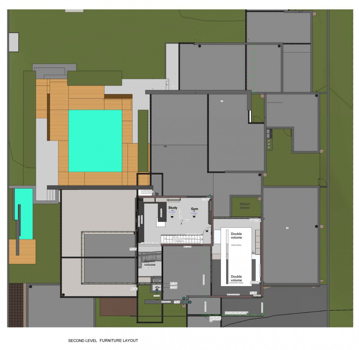 Floor plan of House Sar by Nico van der Meulen Architects