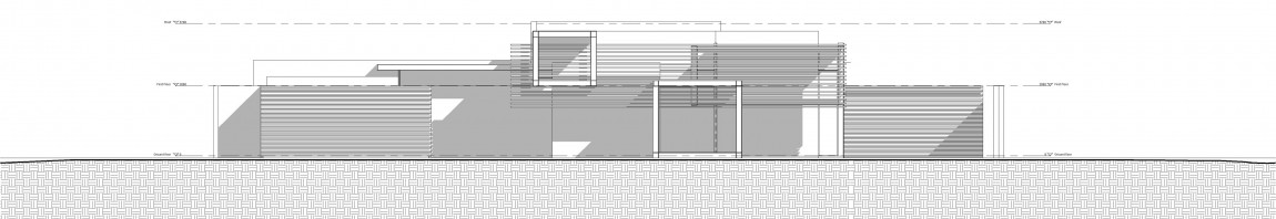 Drawing of House Sar by Nico van der Meulen Architects