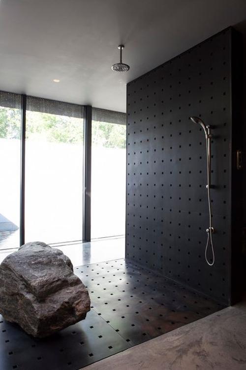 steel shower floor