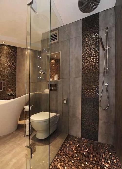 coin shower floor