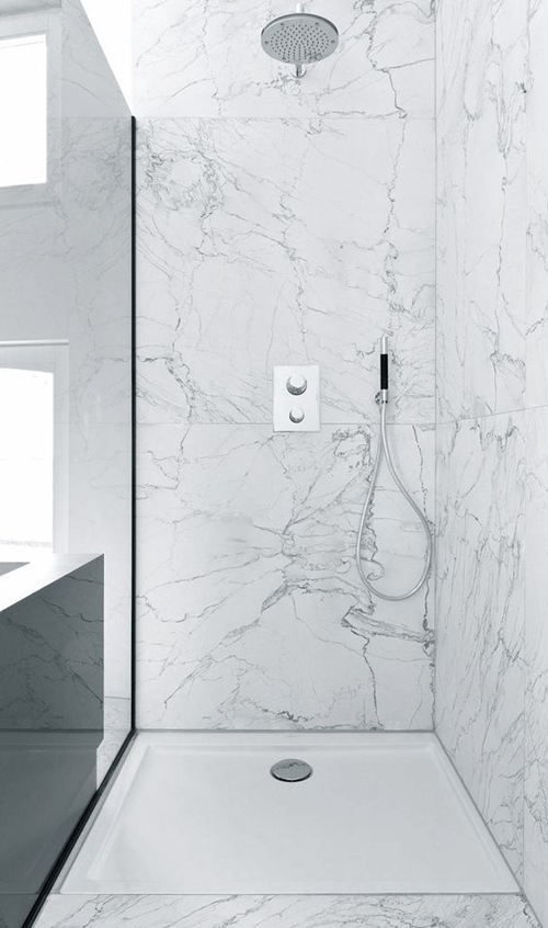 marble shower tiles