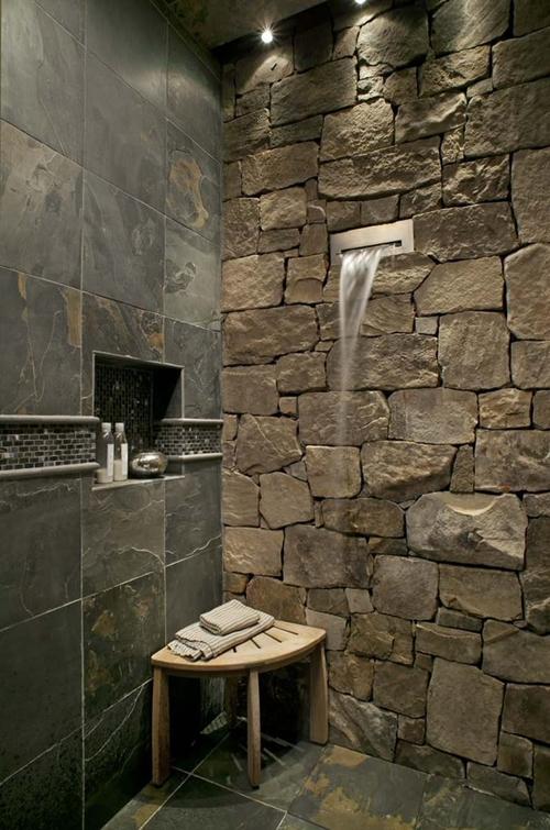 stone shower tiles