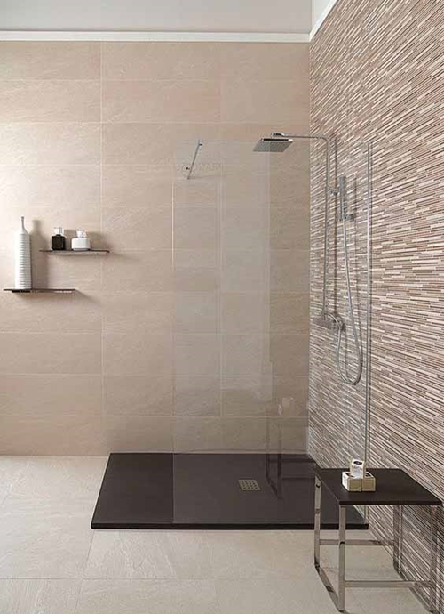 100 walk in shower ideas that will make you wet - Ideas para pintar azulejos bano ...