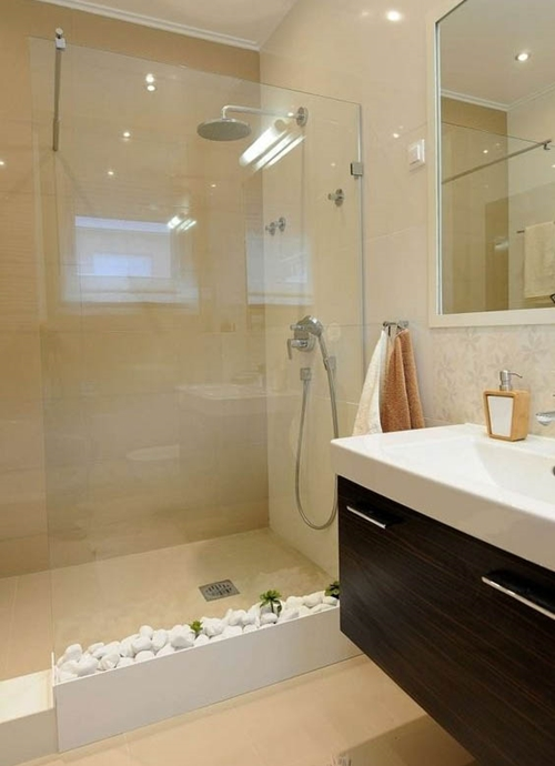 Walk In Shower Without Doors Featured