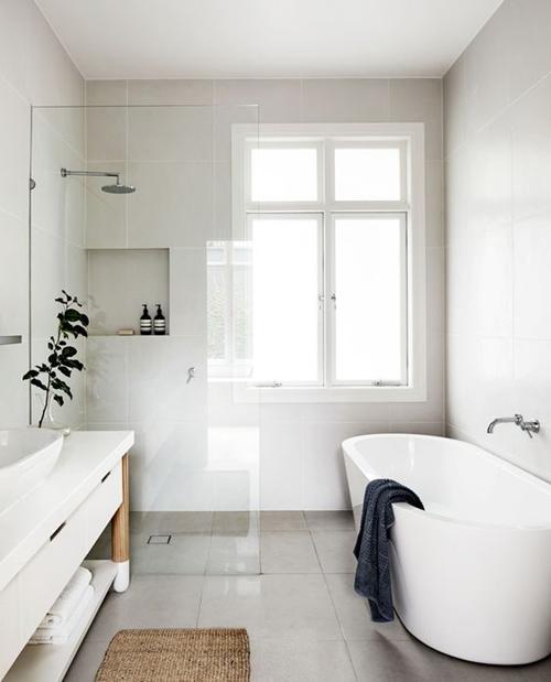 walk in shower without door