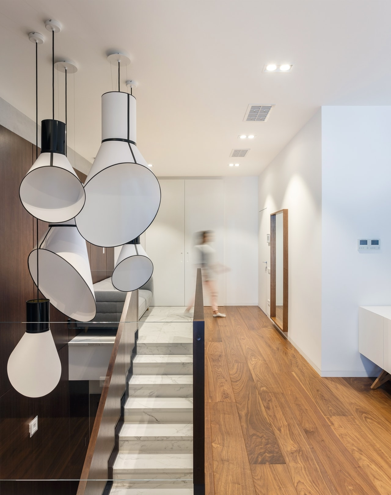 Modern apartment hallway by SVOYA
