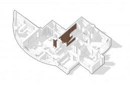 Over O apartment floor plan by SVOYA studio