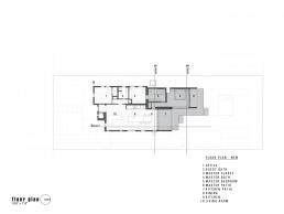 Small modern home renovation floor plan by Chen + Suchart Studio