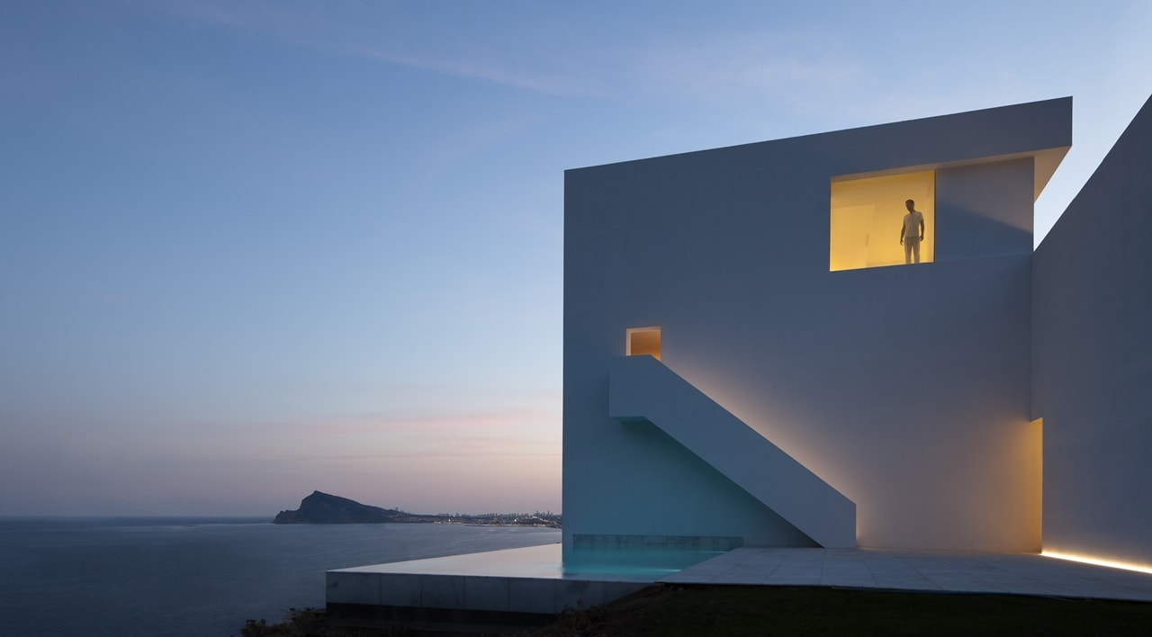 Minimalist House Design Breathtaking Home On The Cliffs Of Valencia