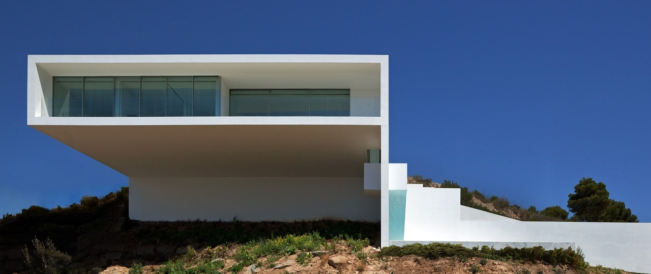 diego opazo modern design of cliff house by fran silvestre architects