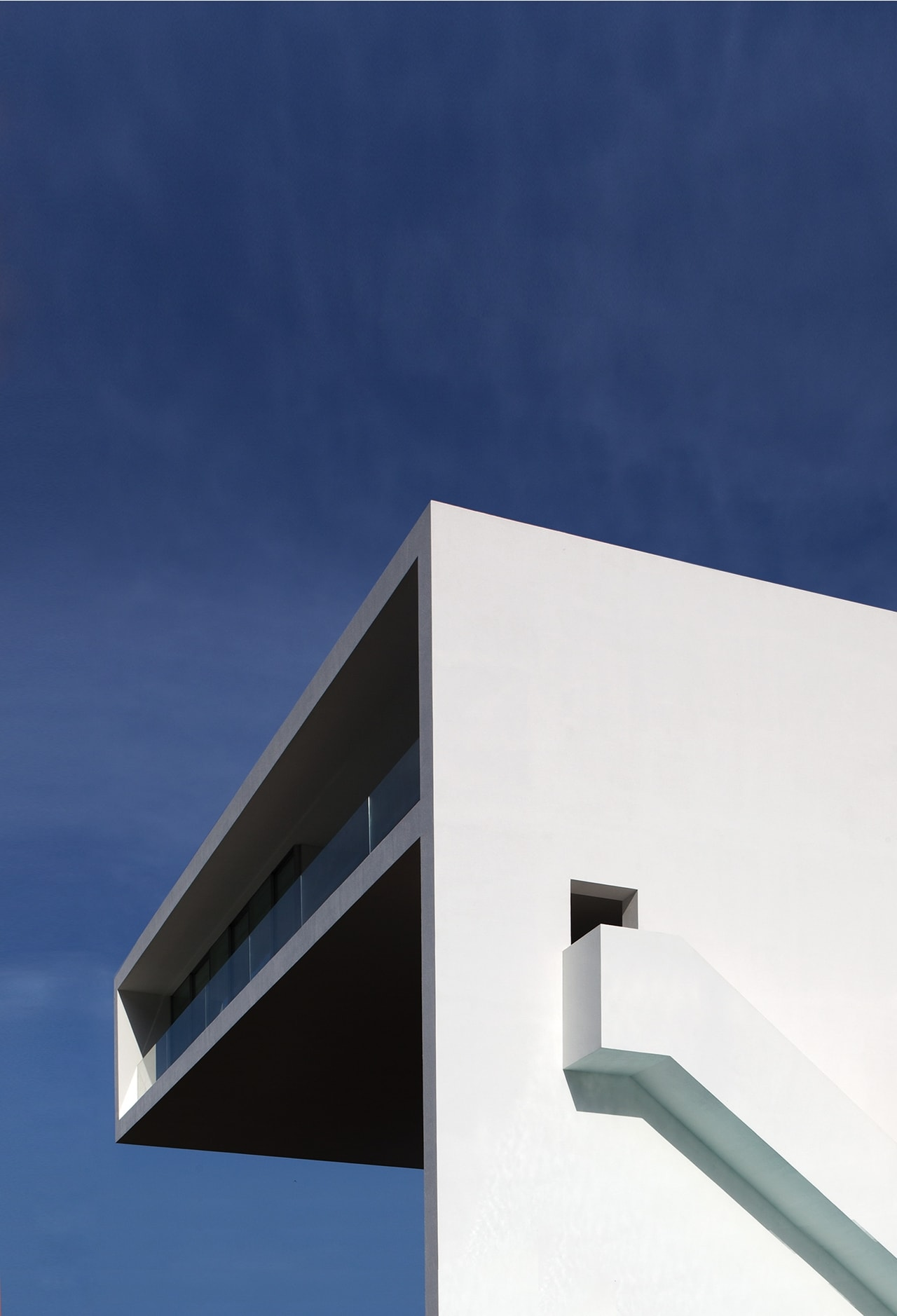 Diego Opazo Minimalist house design of Cliff House by Fran Silvestre architects & Minimalist house design: Breathtaking home on the cliffs of Valencia ...