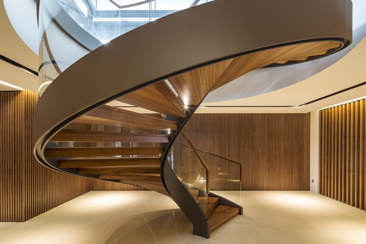 This Spiral Staircase Will Turn Any Home Into Modern