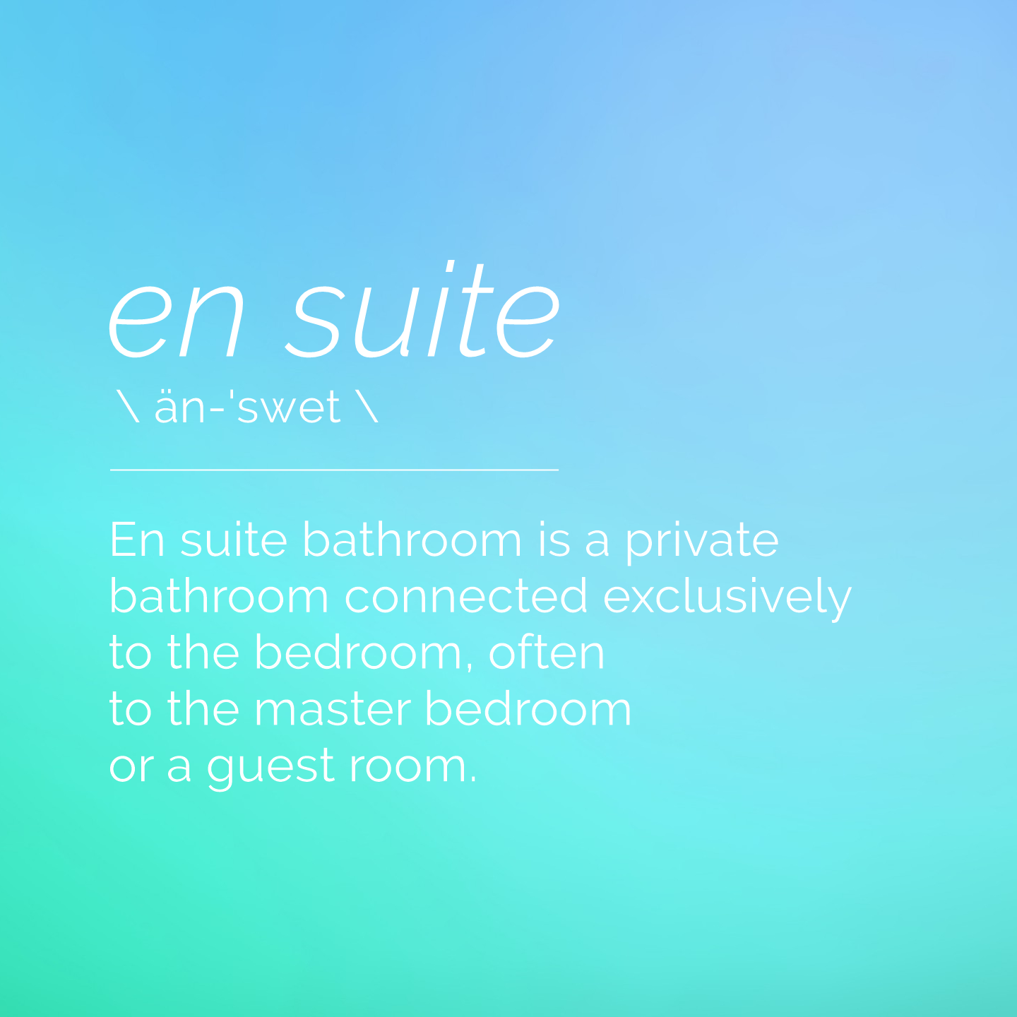 What Is an En Suite Bathroom/Bedroom? - En Suite Definition ...