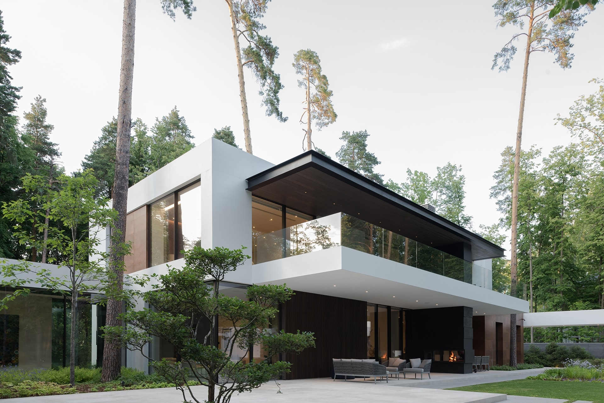 Modern Forest House Designed to Become a Serene Sanctuary - Architecture Beast